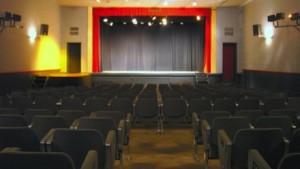 Vue intérieure du théâtre