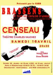 Affiche Brassens_A3 5